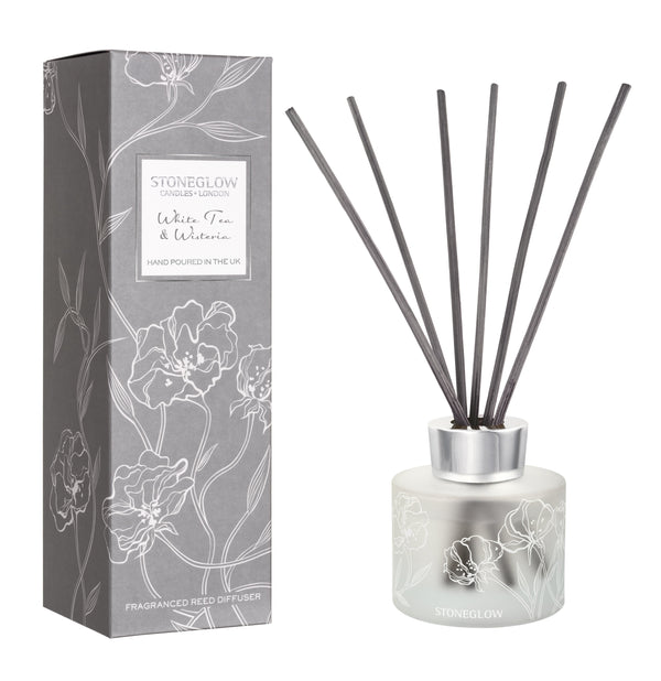 DAY FLOWER WHITE TEA & WISTERIA REED DIFFUSER