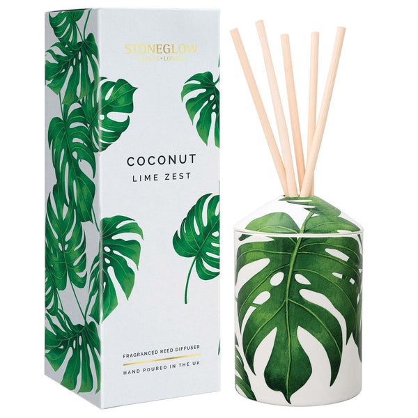Stoneglow Urban Botanics Coconut Lime Zest Reed Diffuser