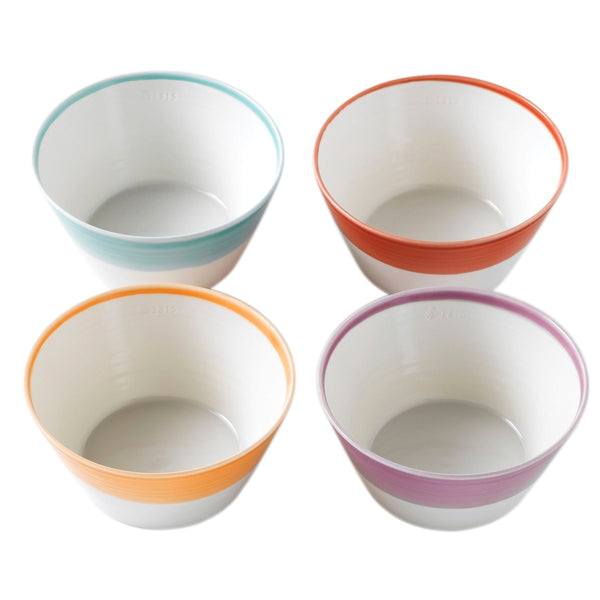 1815 Bright Colours Cereal Bowls (Set of 4)