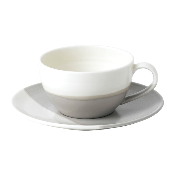 Coffee Studio Cappuccino Cup and Saucer