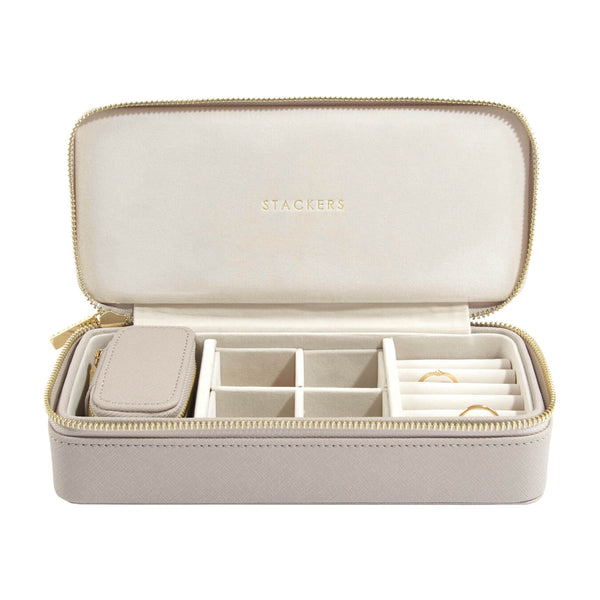 Stackers Large Zipped Jewellery Box