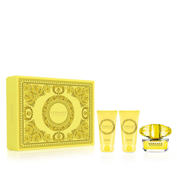 Versace Yellow Diamond Eau De Toilette Set 50ml