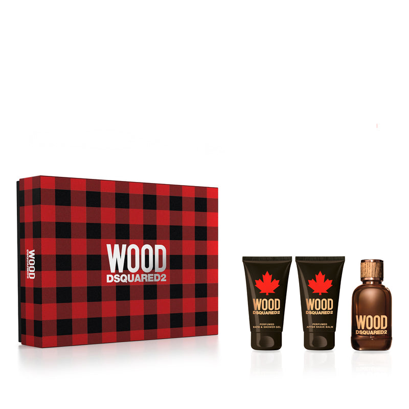 Dsquared2 Wood Pour Homme Eau De Toilette Set 50ml
