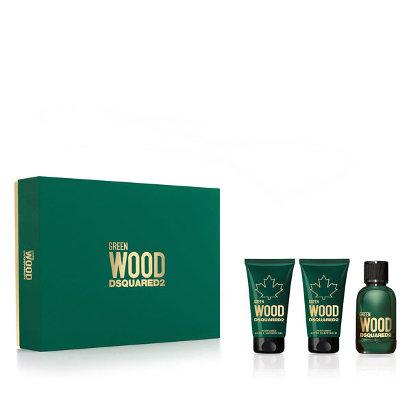 Dsquared2 Green Wood Eau De Toilette Set 50ml