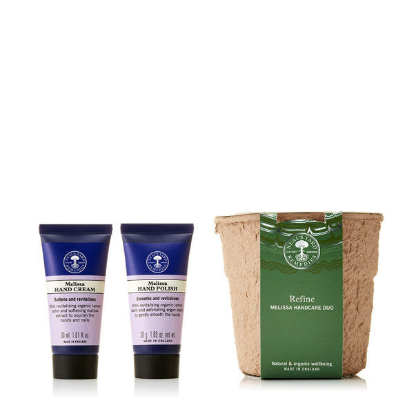 Neal's Yard Remedies Refine Melissa Handcare Duo