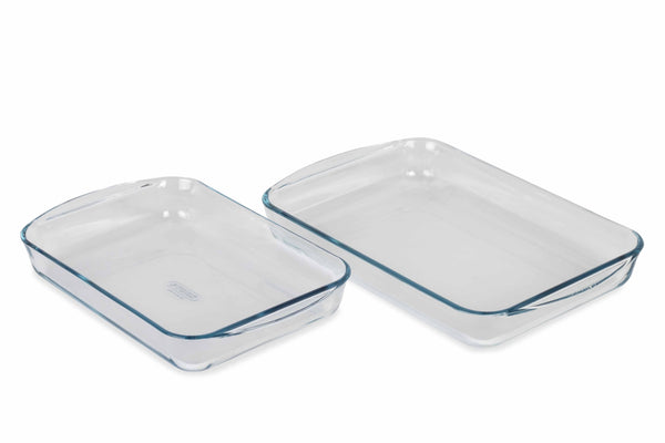 ESSENTIAL 2 PIECE RECTANGLE ROASTER SET