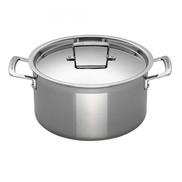 3PLY STAINLESS STEEL DEEP CASSEROLE