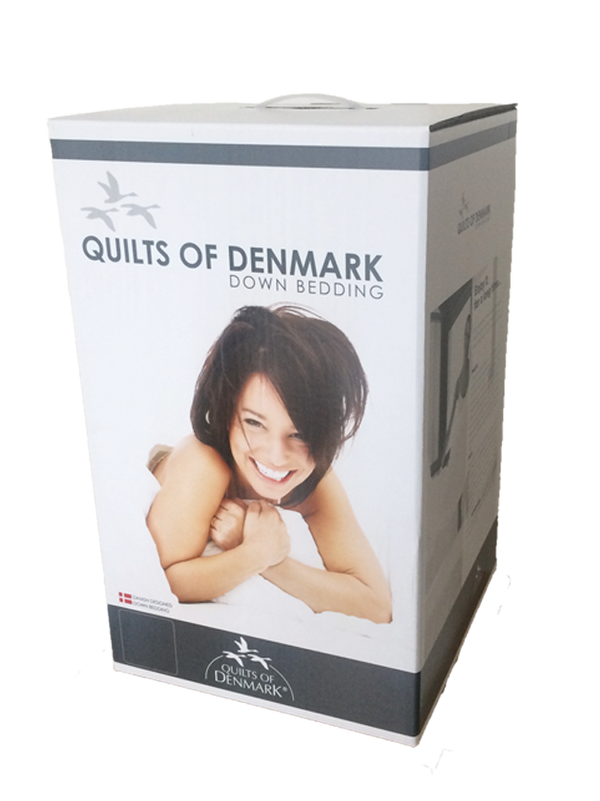 Quilts Of Denmark 13.5 Tog Duck Feather Boxed Duvet