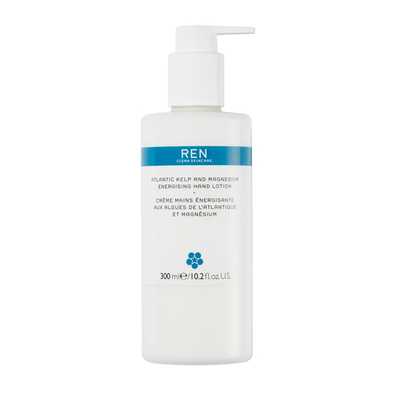 Ren Atlantic Kelp And Magnesium Energising Hand Lotion 300ml