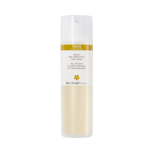 Ren Neroli And Grapefruit Body Wash 200ml