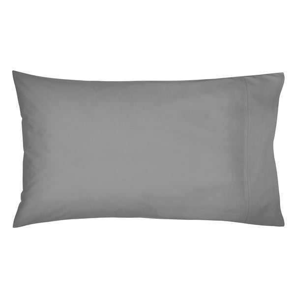 Bedeck Charcoal 300 Thread Count Standard Pillowcase