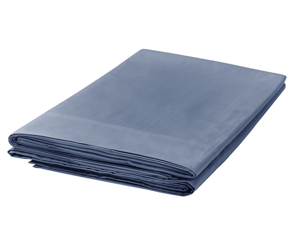 Bedeck Denim 300 Thread Count Flat Sheet