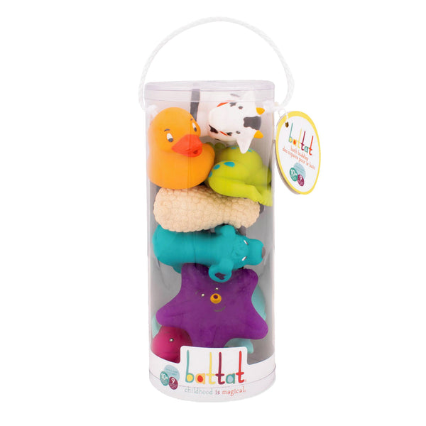 BATH BUDDIES 9 PIECES