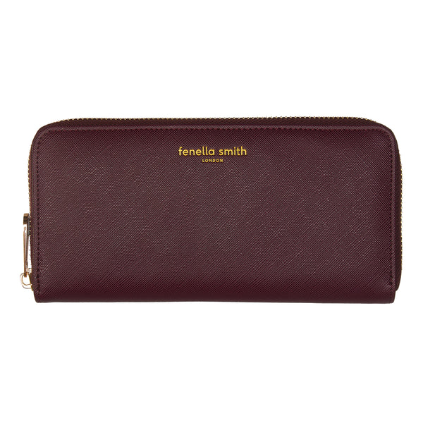Fenella Smith Burgundy Purse