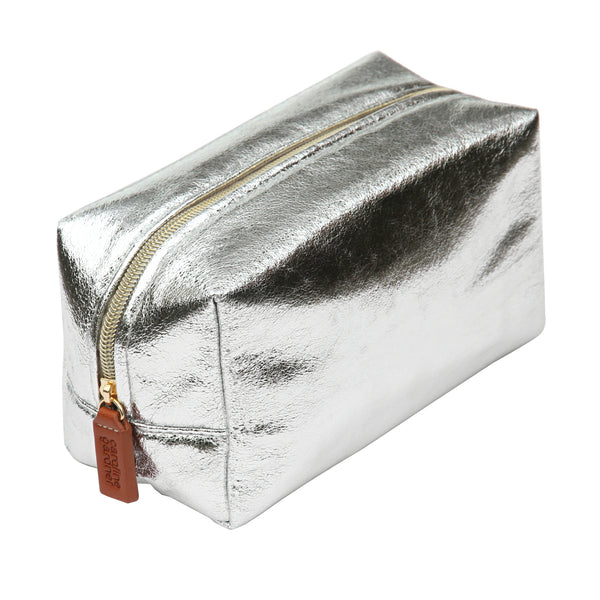 Caroline Gardner Crackle Box Cosmetic Bag