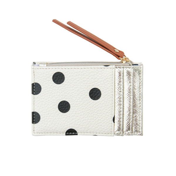 Scattered Spot Small Card Purse