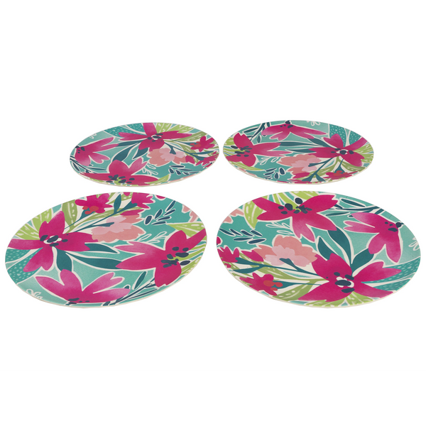 Cambridge Evie Bamboo Plates 4-Pack