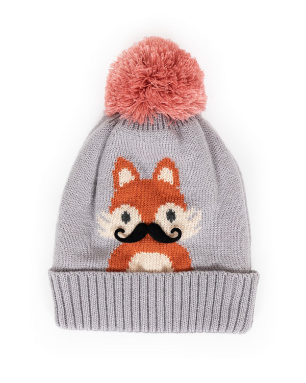 Powder Cosy Fox Hat