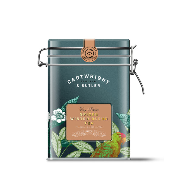 SPICED WINTER TEA CADDY LOOSE LEAF TEA TIN 100G