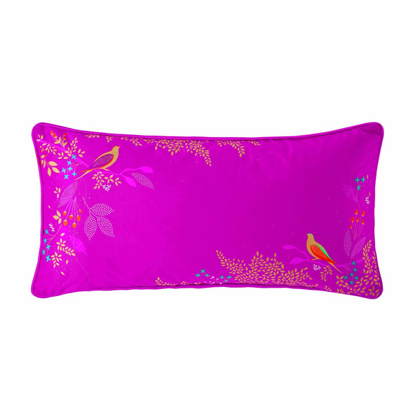 CERISE BIRDS CUSHION