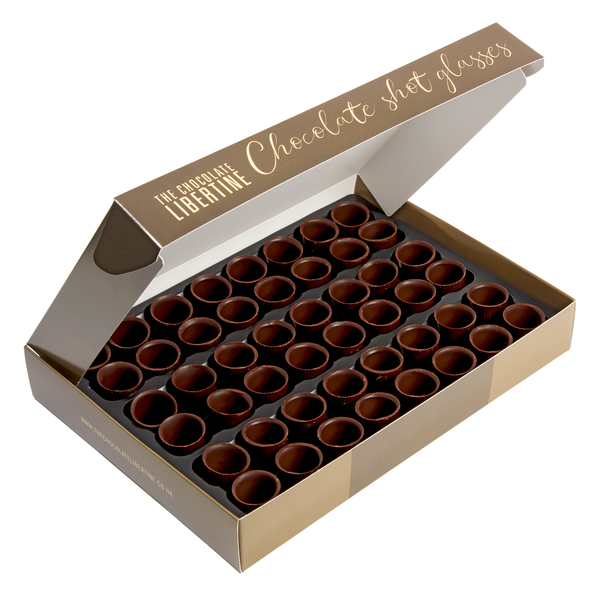 CHOCOLATE SHOT GLASSES 240G