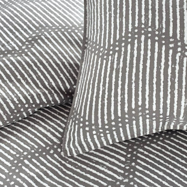 DOT CHEVRON DUVET COVER