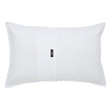 CLIPPED SQUARE JACQUARD STANDARD PILLOWCASE