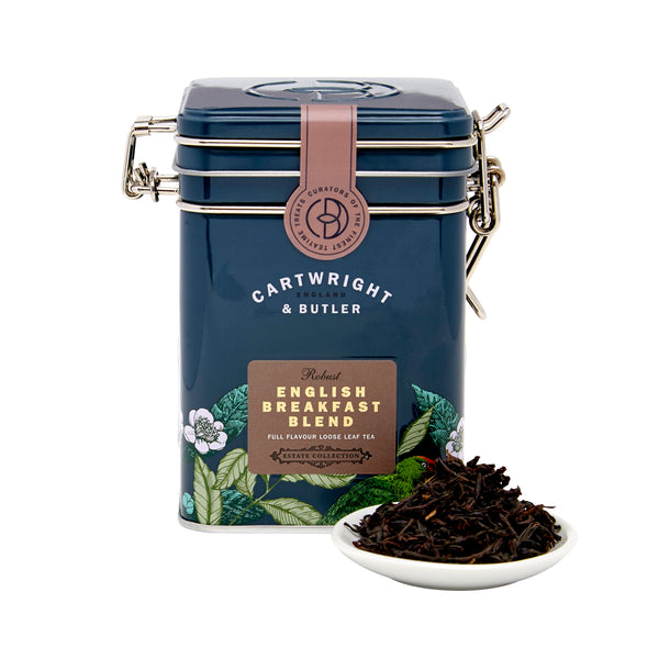 ENGLISH BREAKFAST LOOSE LEAF TEA CADDY 100G