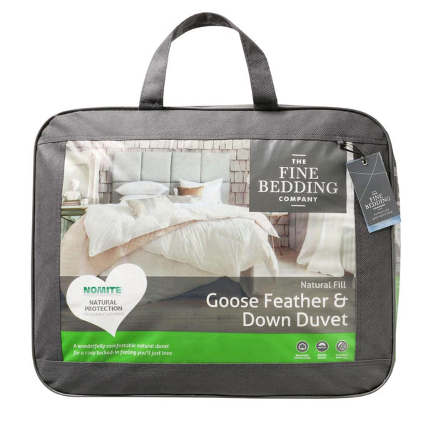 Fine Bedding Company Goose Feather & Down Duvet 4.5 Tog