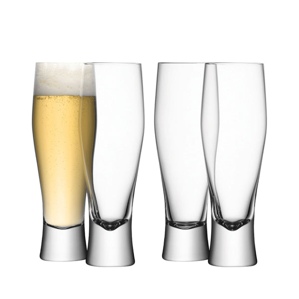LAGER GLASSES SET OF 4