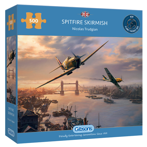 Gibsons 500 Piece Spitfire Skirmish