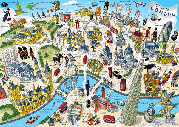 Gibsons 500 Piece This Is London