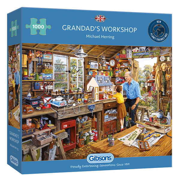 Gibsons 1000 Piece Grandad's Workshop