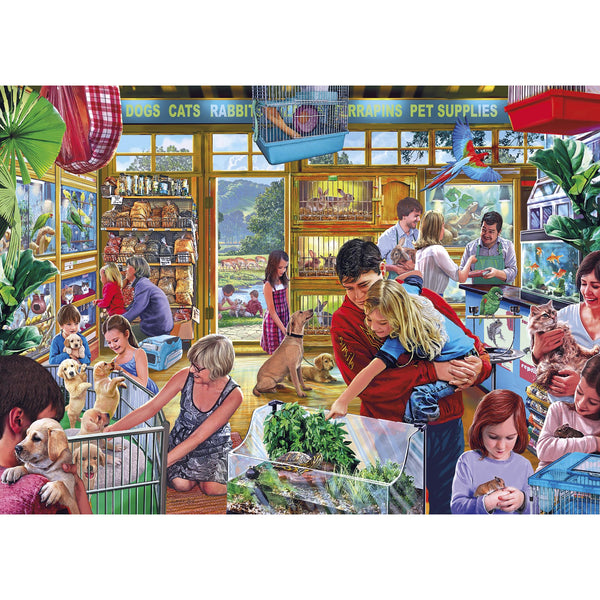 Gibsons 1000 Piece Furry Friends