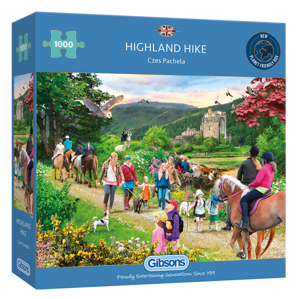 Gibsons 1000 Piece Highland Hike