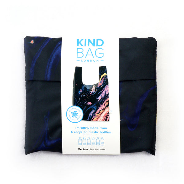 Kind Bag Galaxy Marble Reusable Medium Bag