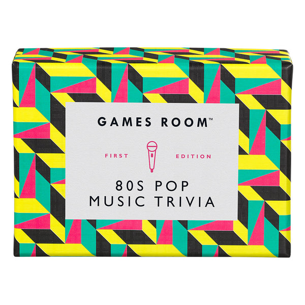Ridley's Games 80's Pop Music Trivia Game Room