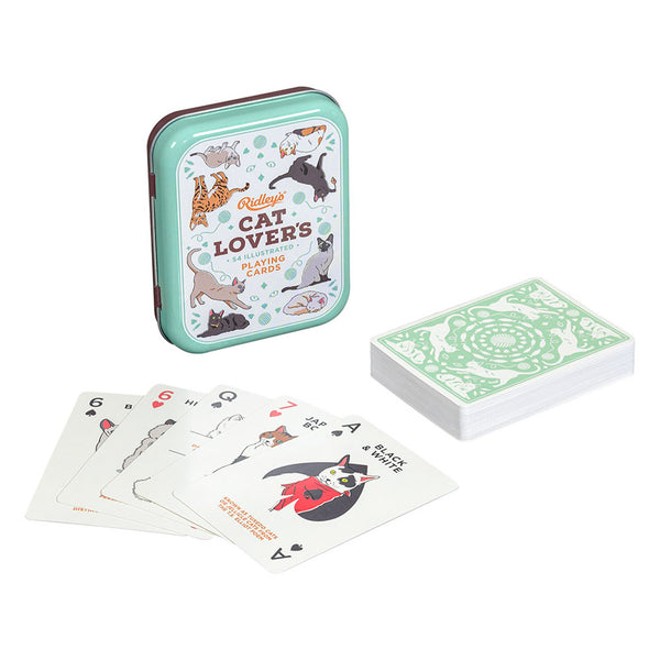 Ridley's Games Cat Lovers Playing Cards