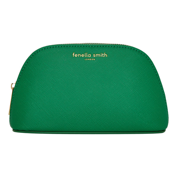 Fenella Smith Green Oyster Cosmetic Case