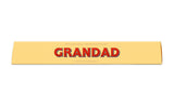 Toblerone Grandad Personalised Toblerone Bar 100G