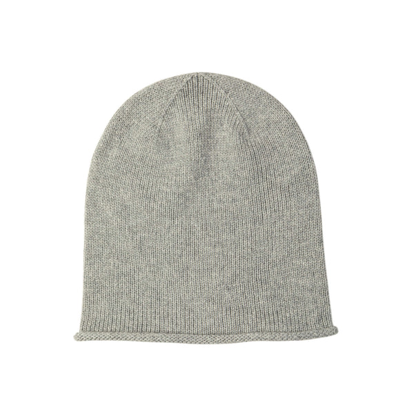 Johnstons Of Elgin Roll Trim Cashmere Hat