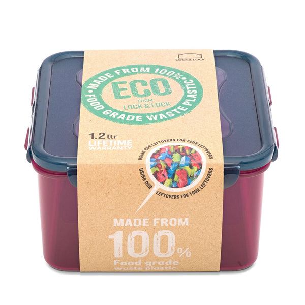 Lock & Lock Eco Square Container 1.2L