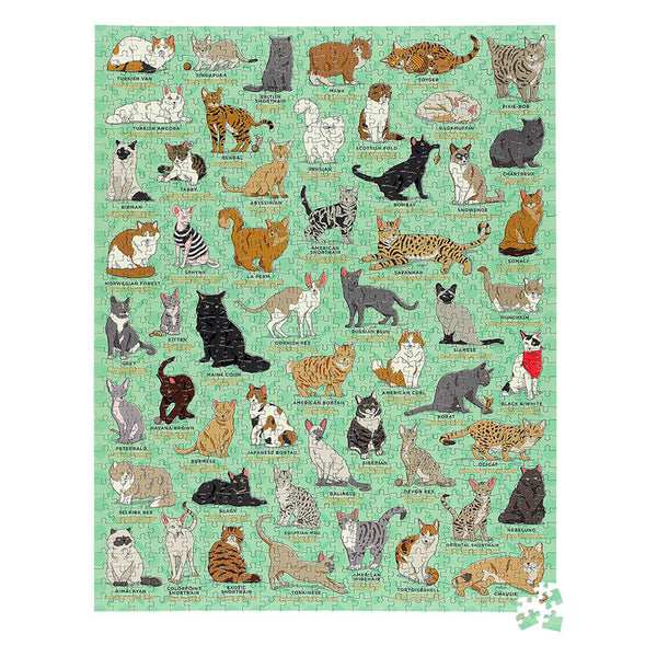 Ridley's Games Cat Lovers Jigsaw Puzzle 1000 Pieces