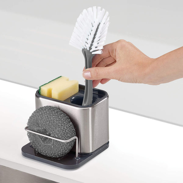 COMPACT STAINLESS STEEL SINK TIDY
