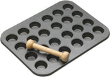 Kitchencraft Masterclass Twenty-Four Hole Mini Tart Tray