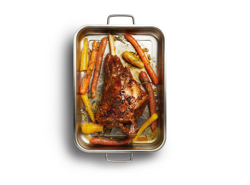 Kitchencraft Masterclass Stainless Steel Roaster