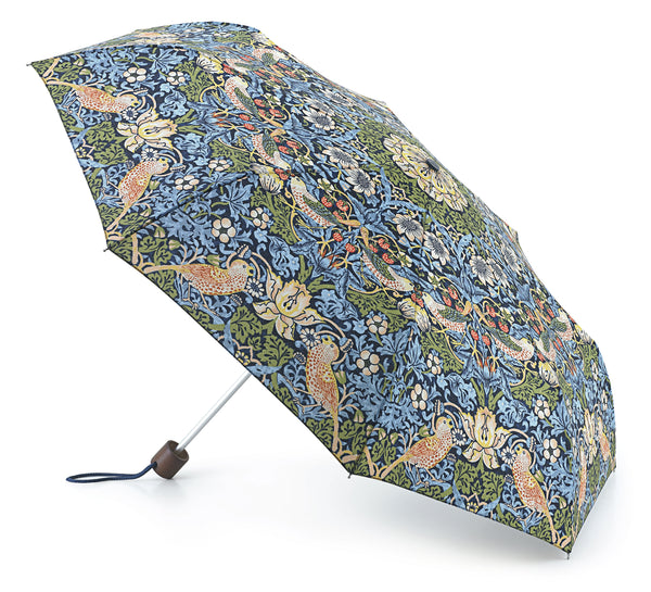 MORRIS AND CO MINILITE 2 STRAWBERRY THIEF UMBRELLA
