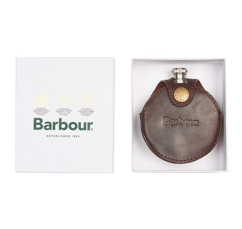 ROUND HIP FLASK IN GIFT BOX