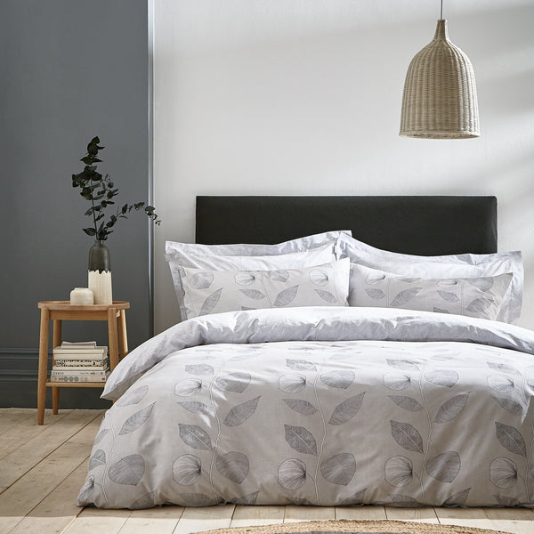 Makura 100% Cotton Duvet Cover and Pillowcase Set