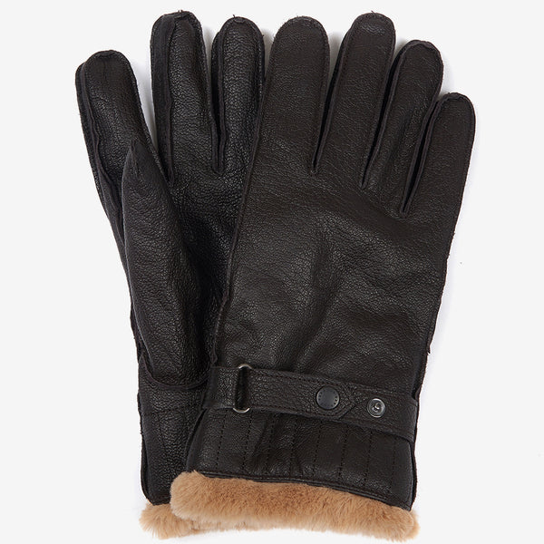 BROWN LEATHER UTILITY GLOVE